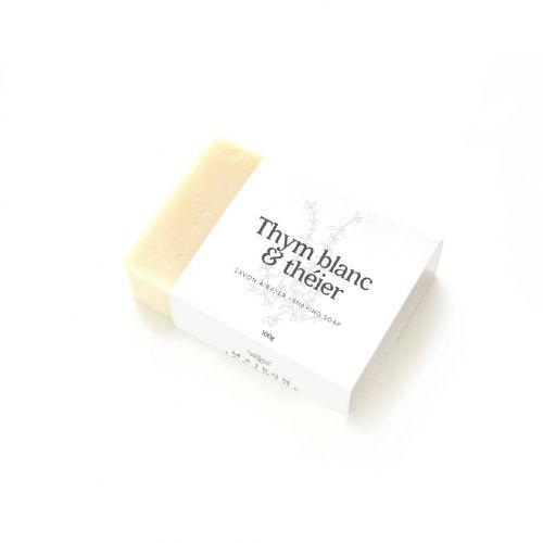 Savon Thym blanc & théier