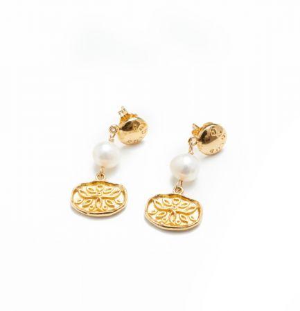 Antique - Boucles d'oreilles pendantes