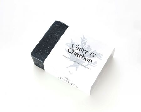Savon de Jacynthe - Cèdre & Charbon