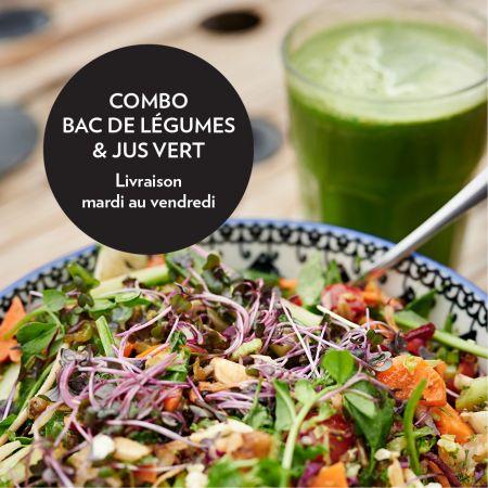 COMBO (bac de légumes + jus)