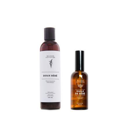 Ensemble bébé (shampooing & huile de bébé)