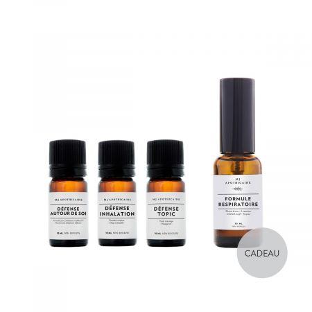 Kit of 3 Defense formulas + Formule Respiratoire as a gift