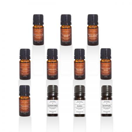 Ensemble 11 huiles essentielles