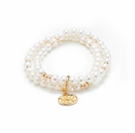 Exceptional - Bracelet White Pearl