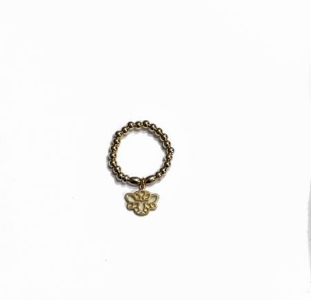Gold tenderness ring