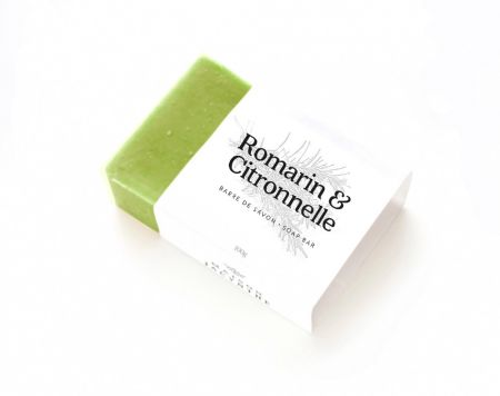 Soap :  Rosemary & Lemongrass