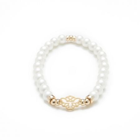 Secret - Bracelet White Pearl
