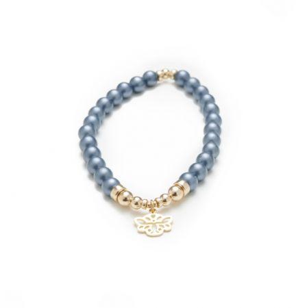 Tendresse - Bracelet Perle Bleue