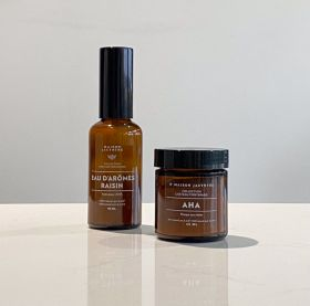 AHA and Grape Aroma Water duo