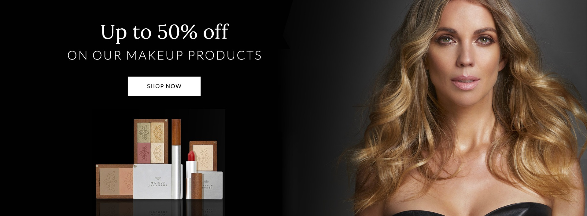 50% Discount on all makeup sets