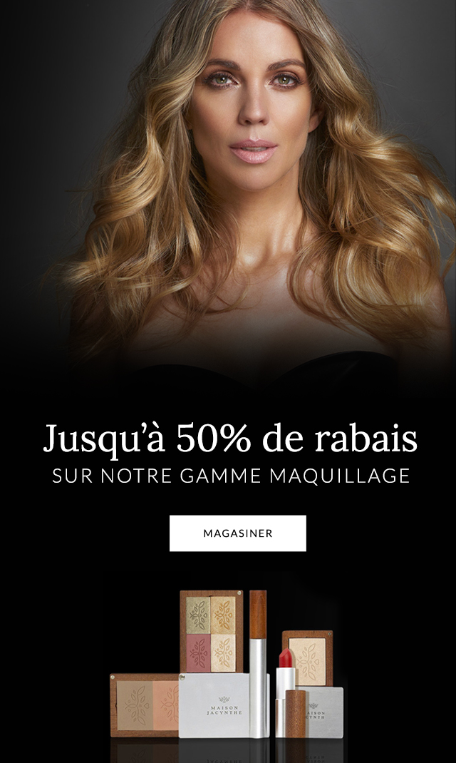 50% de rabais sur le maquillage