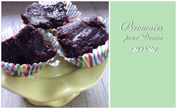 Brownies pour Denise