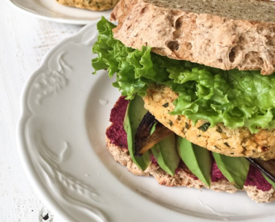Burger Chipotle Vegan (pain sans gluten)