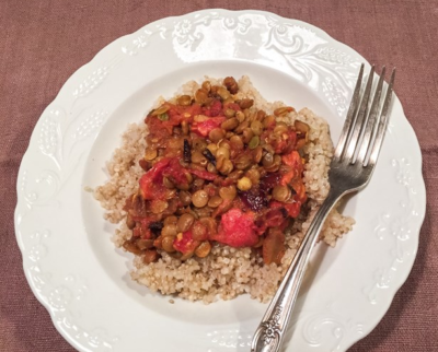 Curry de quinoa