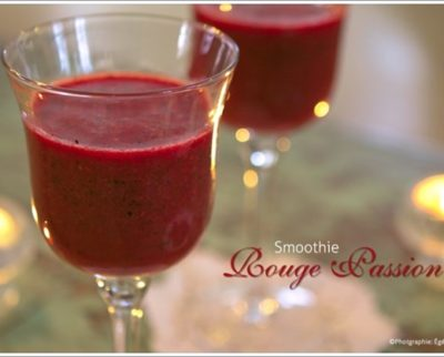 Red passion antioxidant smoothie