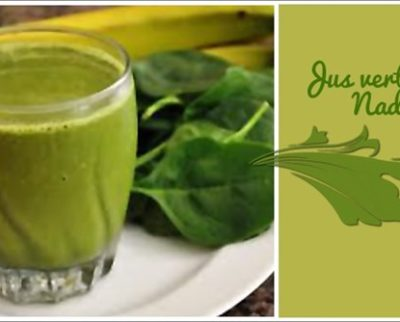 Green melon, cucumber, spinach and parsley smoothie