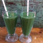 Green smoothie protein with spiruline