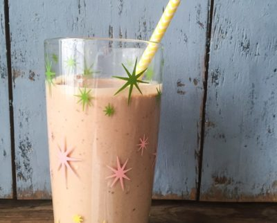 Creamy, Chocolate, Vegan, Sugar-Free Milkshake