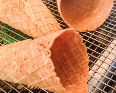 Vegan and Gluten-Free Homemade Cones